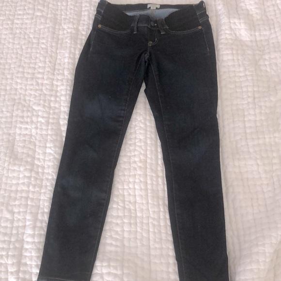 J Crew Maternity Jeans Size 25